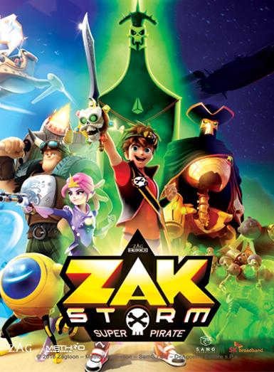 Zak Storm Super Pirate Dvdtoile