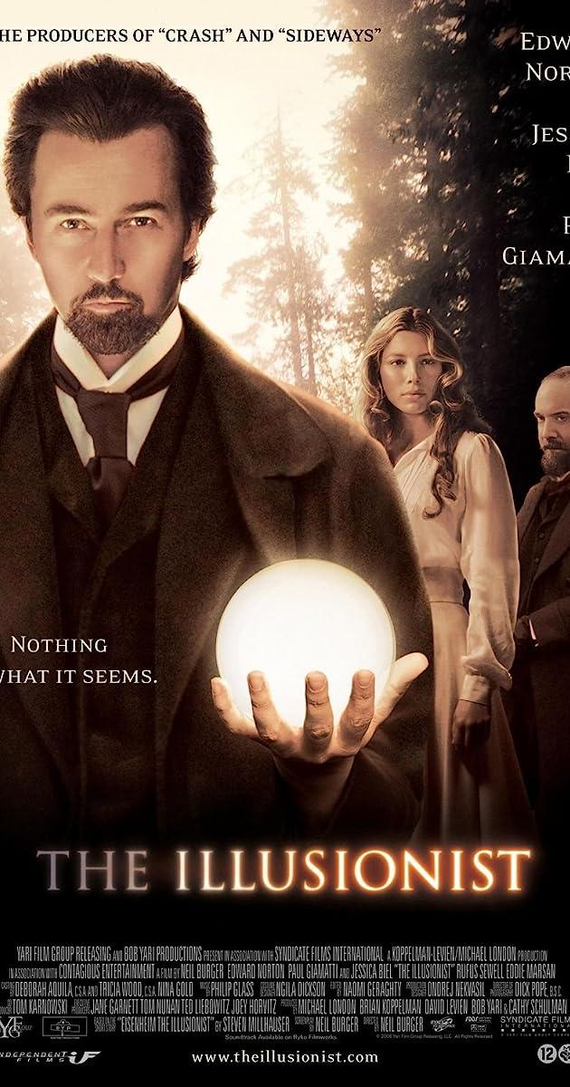 The Illusionist (2006) Bluray 720p 1080p
