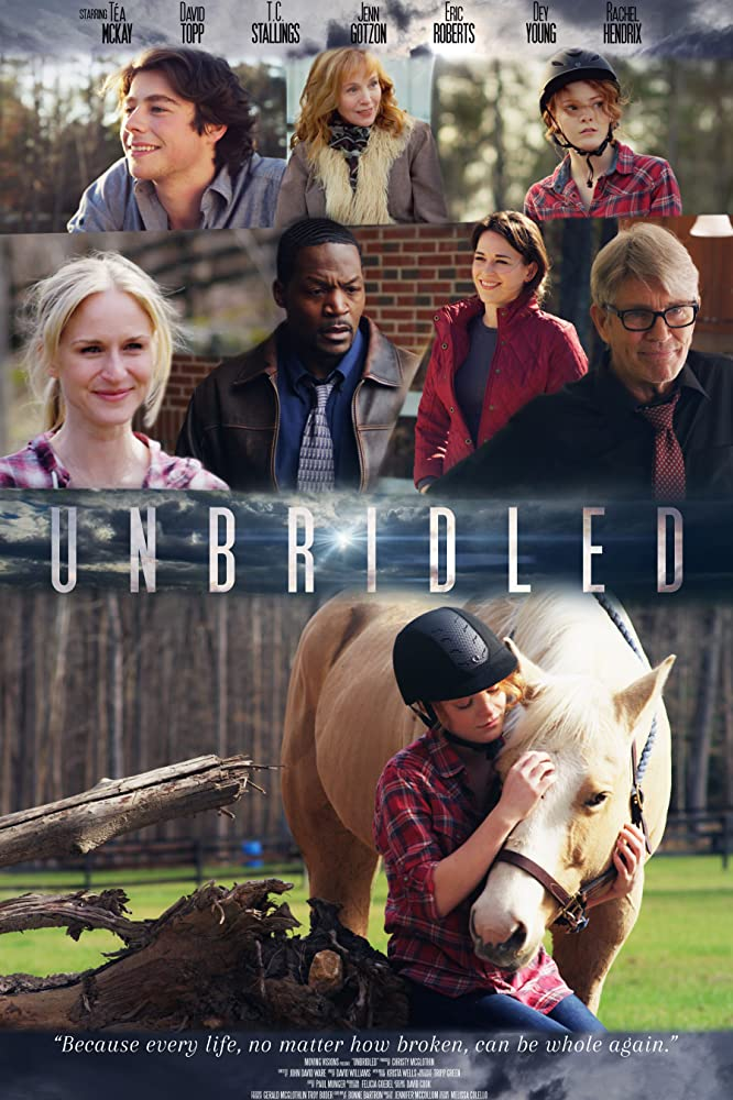 UNBRIDLED film poster courtesy of IMDB