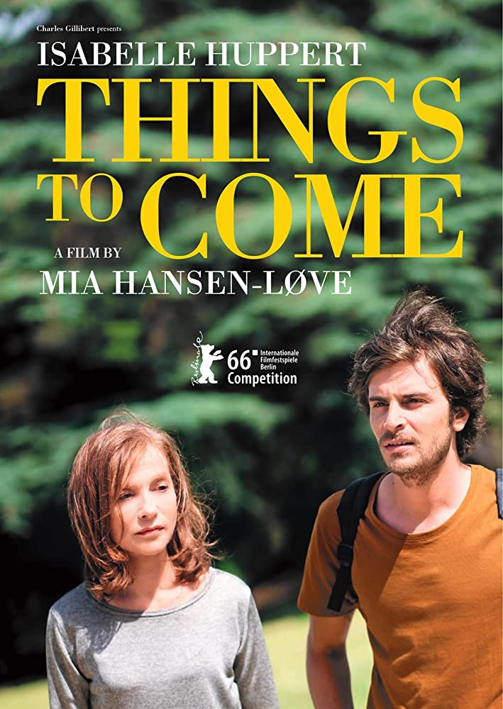 Things to Come (2016) L'avenir (original title)