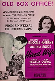 Hired Wife (1940) Poster - Movie Forum, Cast, Reviews