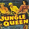 Lester Matthews, Edward Norris, and Ruth Roman in Jungle Queen (1945)