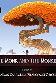 The Monk and the Monkey Poster