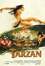 Tarzan 1999 BRRip 720p 630MB Dual Audio ( Hindi – English ) ESubs MKV