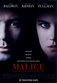 Malice (1993) Poster - Movie Forum, Cast, Reviews