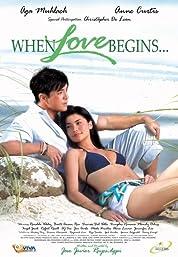 When Love Begins... poster