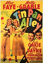Tin Pan Alley (1940) Poster - Movie Forum, Cast, Reviews