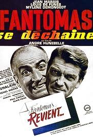 Fantômas se déchaîne(1965) Poster - Movie Forum, Cast, Reviews
