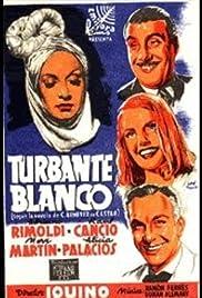 Turbante blanco Poster