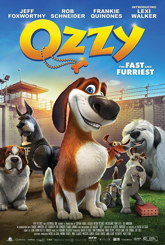 Didysis šunų pabėgimas / Ozzy (2016)