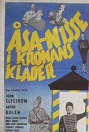Åsa-Nisse i kronans kläder Poster