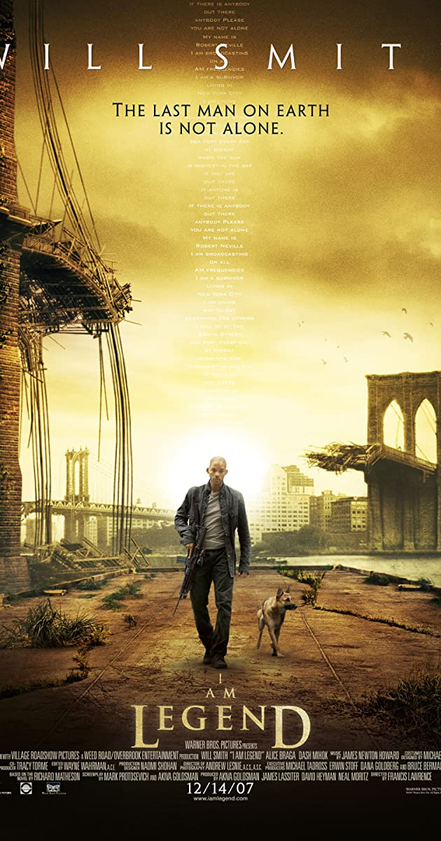 Aš esu legenda / I Am Legend (2007) Online