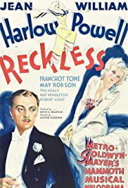 Reckless (1935) Poster - Movie Forum, Cast, Reviews