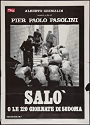 Salò, or the 120 Days of Sodom (1975) poster