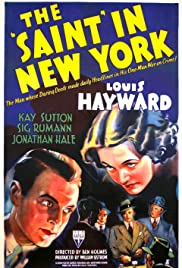 The Saint in New York(1938) Poster - Movie Forum, Cast, Reviews