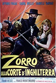Zorro in the Court of England Poster