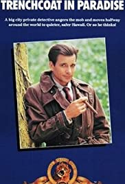 Trenchcoat in Paradise Poster