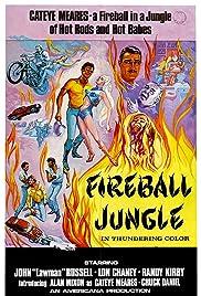 Fireball Jungle Poster