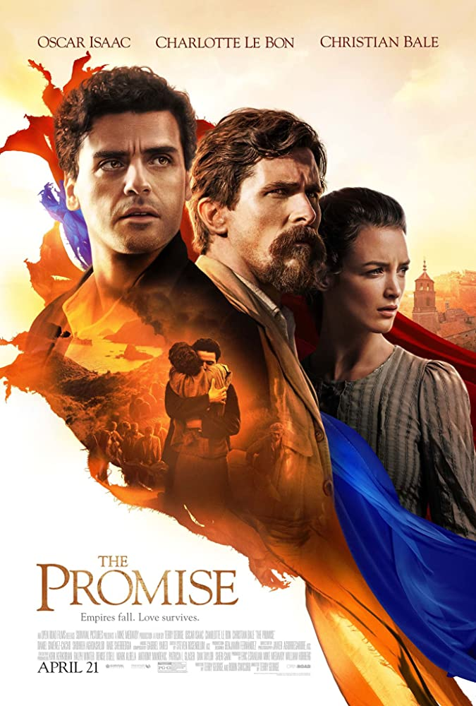 movie poster for The Promise