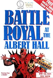WWF Battle Royal at the Albert Hall Poster