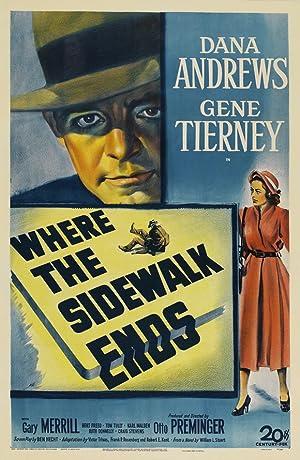 Watch Where the Sidewalk Ends 1950 HD 720P Kopmovie21.online