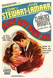 Come Live with Me (1941) Poster - Movie Forum, Cast, Reviews