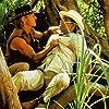 Paul Hogan and Carlos Carrasco in Crocodile Dundee II (1988)