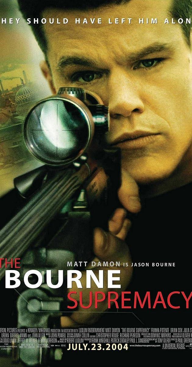 Bornas 2: absoliutus pranašumas / The Bourne Supremacy (2004) Online