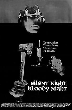 Silent Night, Bloody Night poster