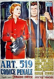 Art. 519 codice penale Poster
