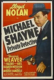 Michael Shayne: Private Detective(1940) Poster - Movie Forum, Cast, Reviews