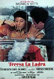 Teresa la ladra Poster
