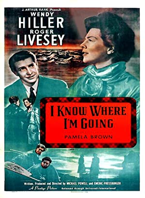 'I Know Where I'm Going!' poster
