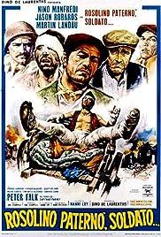 Rosolino Paternò, soldato... Poster