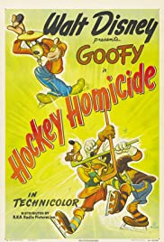 Hockey Homicide Poster