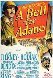 A Bell for Adano (1945) Poster - Movie Forum, Cast, Reviews
