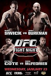 UFC Fight Night: Swick vs Burkman Poster