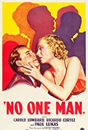 No One Man Poster