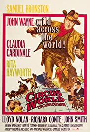 Circus World (1964) Poster - Movie Forum, Cast, Reviews