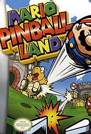 Mario Pinball Land Poster