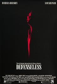 Defenseless(1991) Poster - Movie Forum, Cast, Reviews