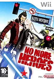 No More Heroes Poster