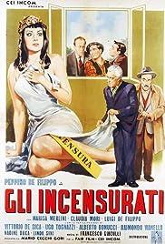 Gli incensurati Poster