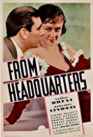 From Headquarters (1933) Poster - Movie Forum, Cast, Reviews