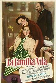 La familia Vila Poster