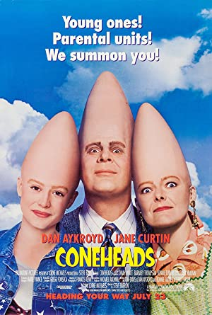 Coneheads poster
