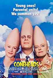 Coneheads (1993) Poster - Movie Forum, Cast, Reviews