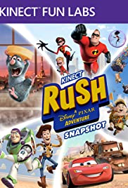 Kinect Fun Labs: Kinect Rush - A Disney Pixar Adventures: Snapshot Poster