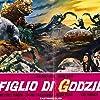 'Little Man' Machan and Haruo Nakajima in Son of Godzilla (1967)
