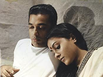 Kamal Haasan and Saranya Ponvannan in Nayakan (1987)